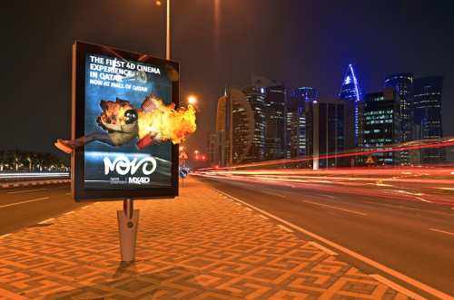 Elan Media launches Novo Cinemas' latest Innovative advertising campaign