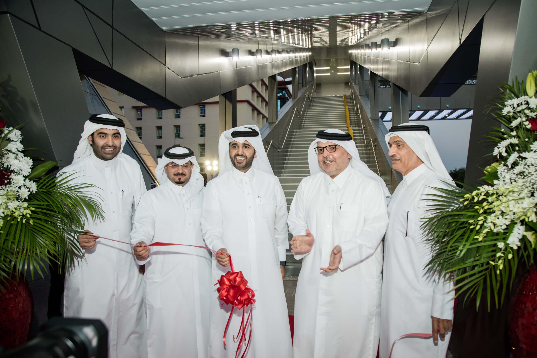 PR_Opening of Pedesterian Bridge Al Matar (Photo)