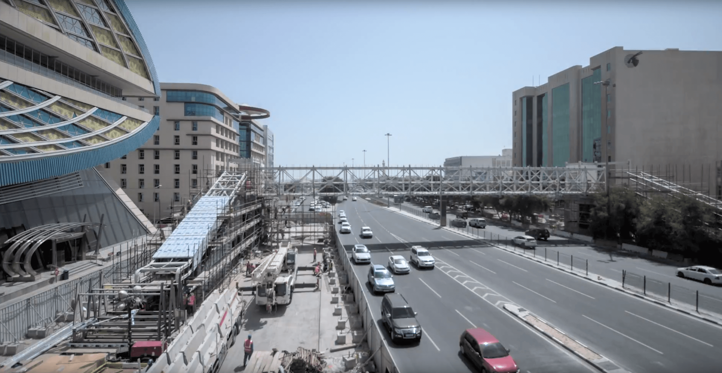 Press Release (Pedestrian Bridges_Al Matar) Photo 1